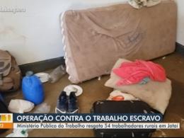 Ação resgata 54 trabalhadores em situação análoga à escravidão e que eram abrigados em prédio de antigo motel