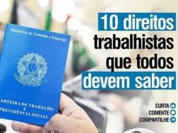 10 DIREITOS TRABALHISTAS QUE TODOS DEVEM SABER