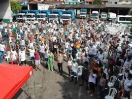 Trabalhadores da Comcap entram em greve por tempo indeterminado