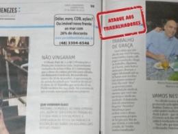A infelicidade do ignorante: Resposta à nota publicada no Jornal Diário Catarinense do dia 27 de abril pelo colunista Cacau Menezes
